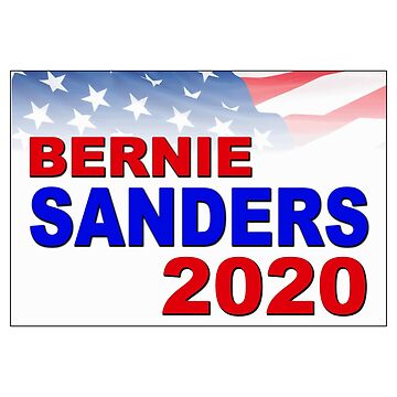 Bernie Sanders for President in 2020 by Chunga