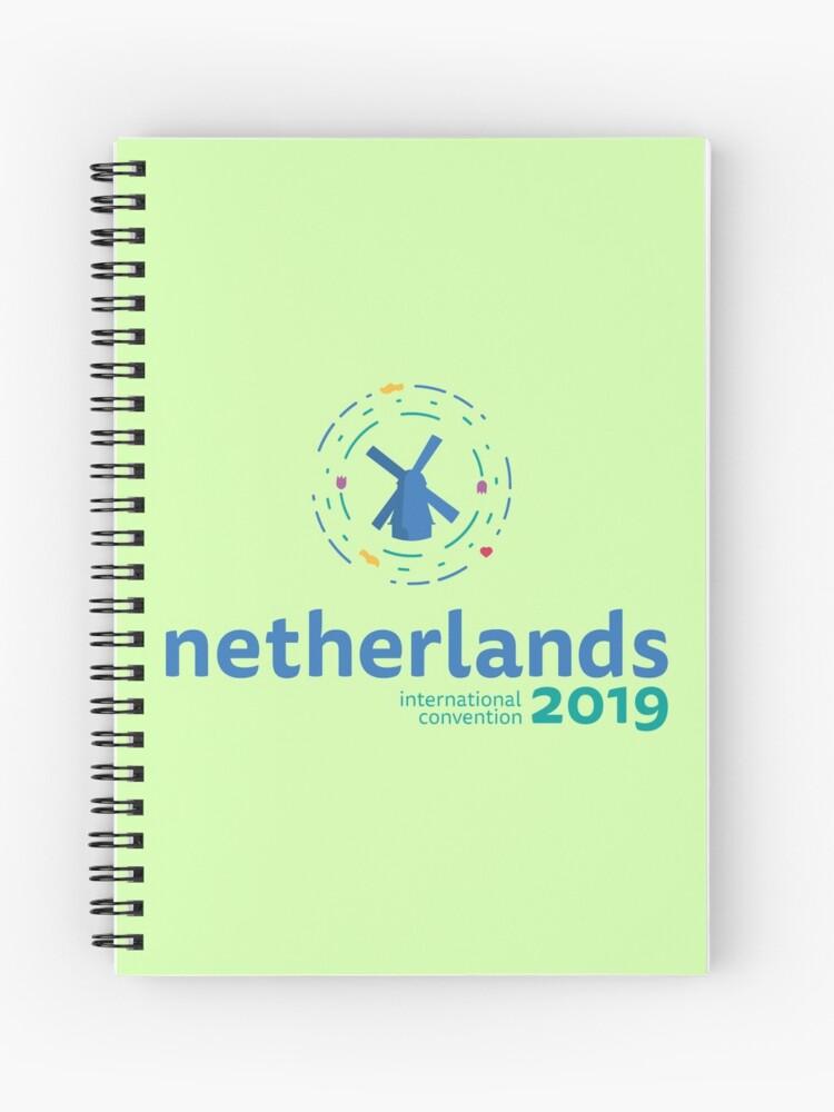 Utrecht, Netherlands - 2019 International Convention | Spiral Notebook
