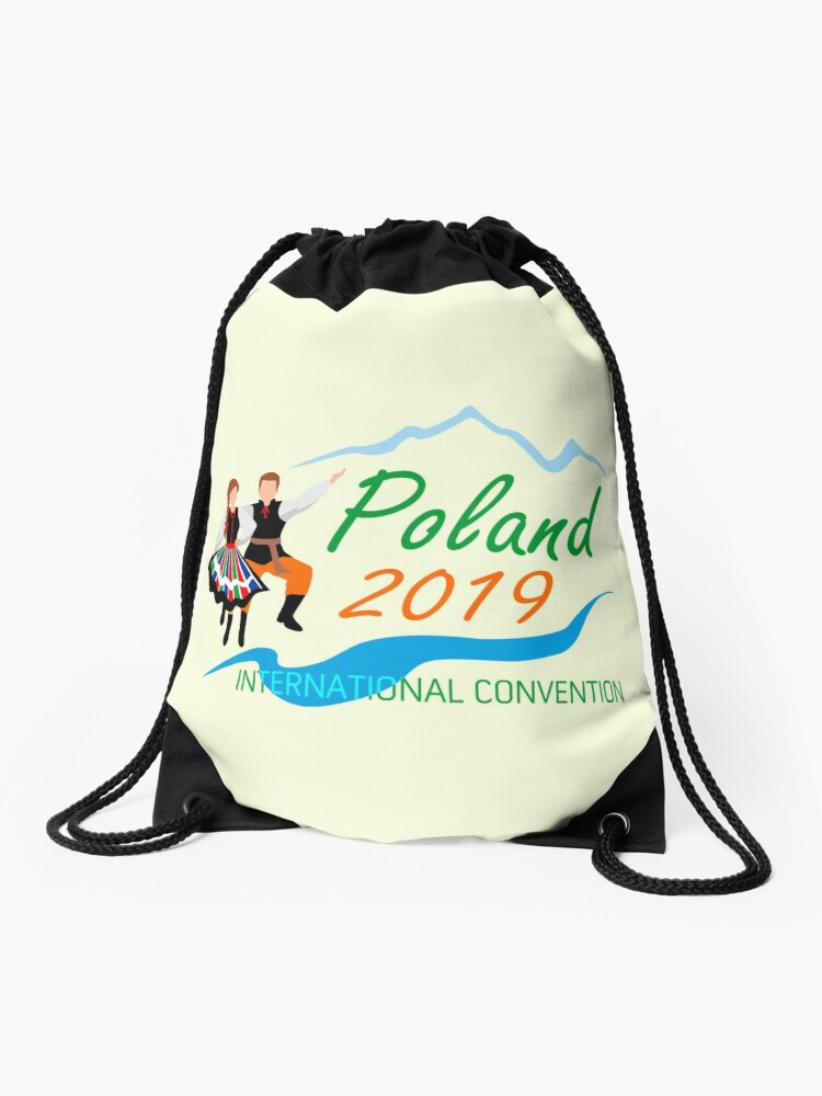 Warsaw, Poland - 2019 International Convention | Drawstring Bag