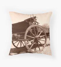 Buckboard Wagon Throw Pillow