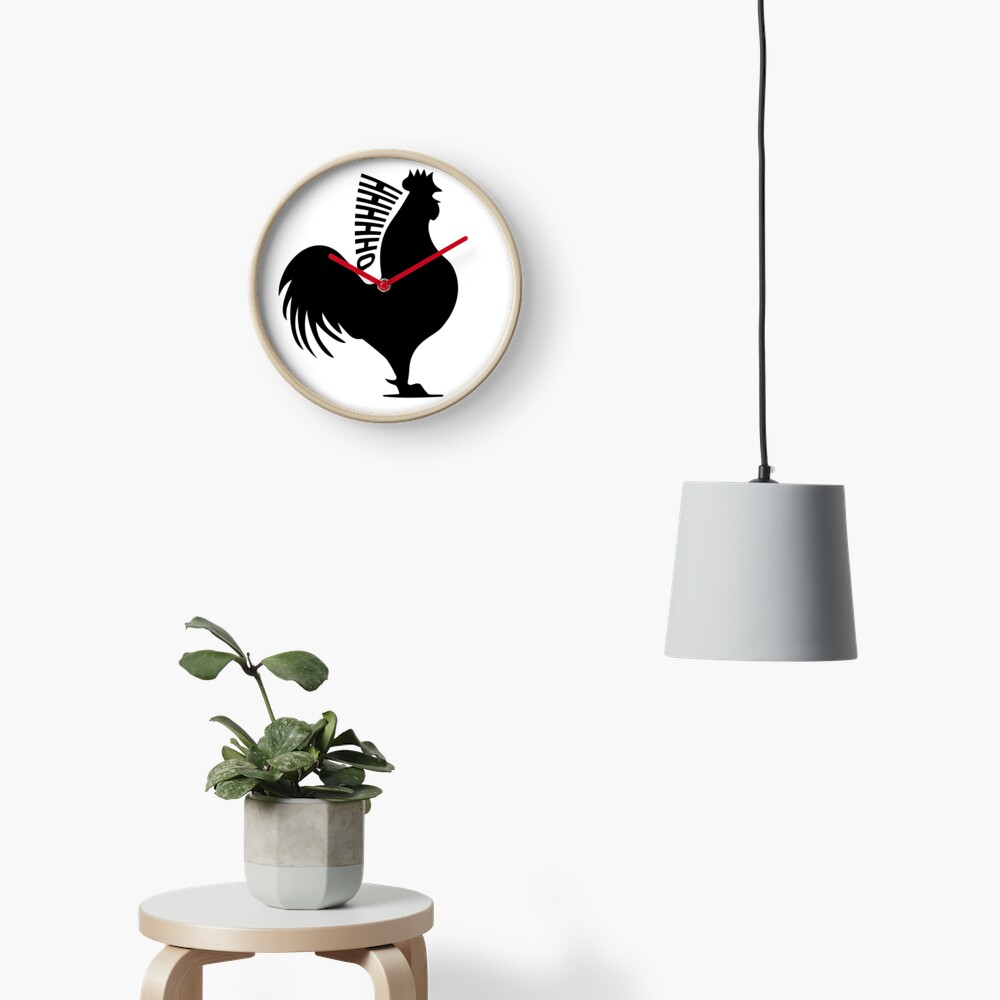 "James May's Official ""Oh Cock"" design Clock"