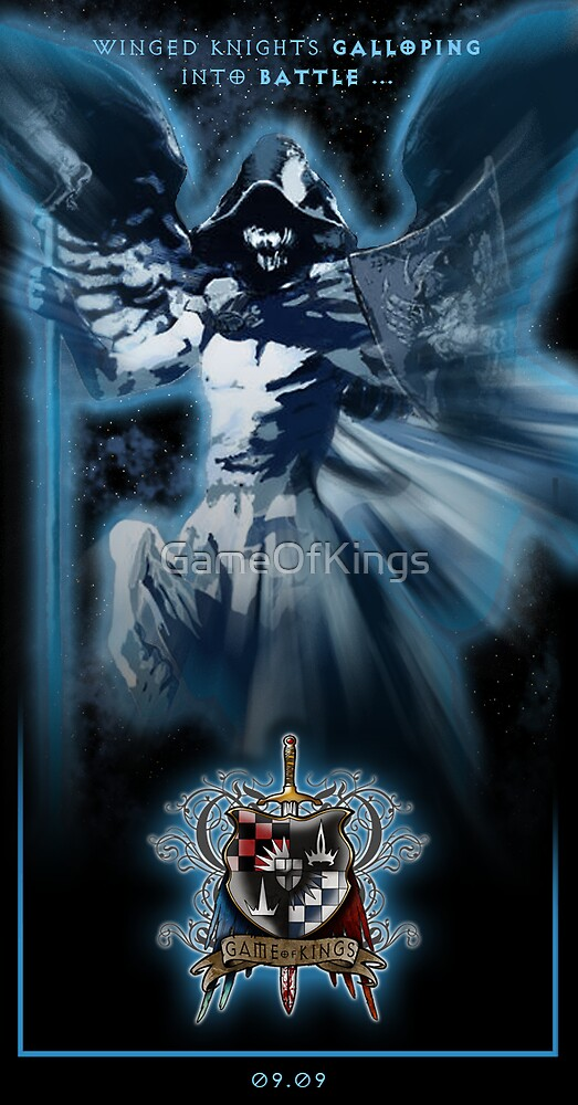 Game of Kings, Wave Seven Preview - the White Queen's Knight by GameOfKings