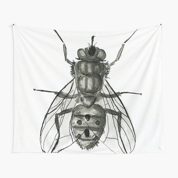 Die Fliege Wandbehang