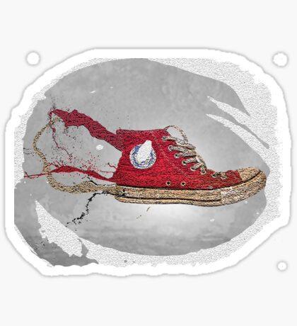 Sneaker Grunge Sticker