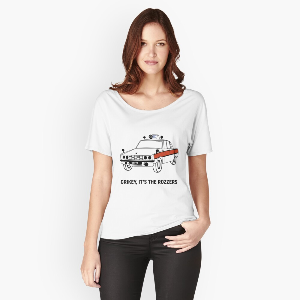 James May's Rozzers Design Women's Relaxed Fit T-Shirt Front