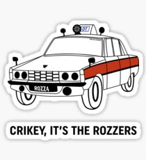 James May's Rozzers Design Sticker