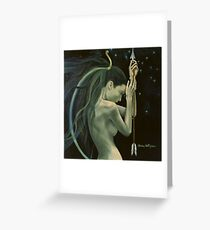 """Sagittarius""…from ""Zodiac signs"" series Greeting Card"