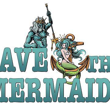 Save the mermaids by headpossum