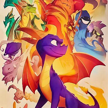 Spyro The Dragon by SrWhitePS