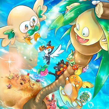 Alola Pokémon by SrWhitePS