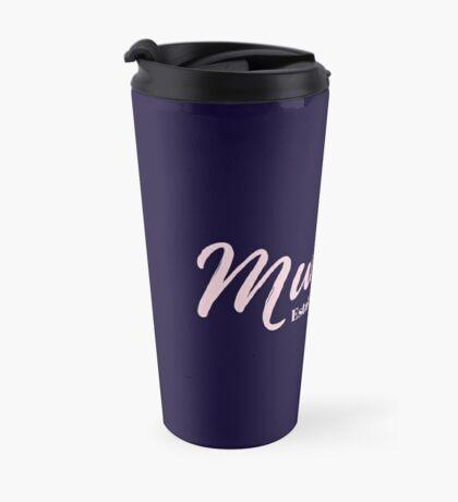 Mummy Established 2012  Travel Mug
