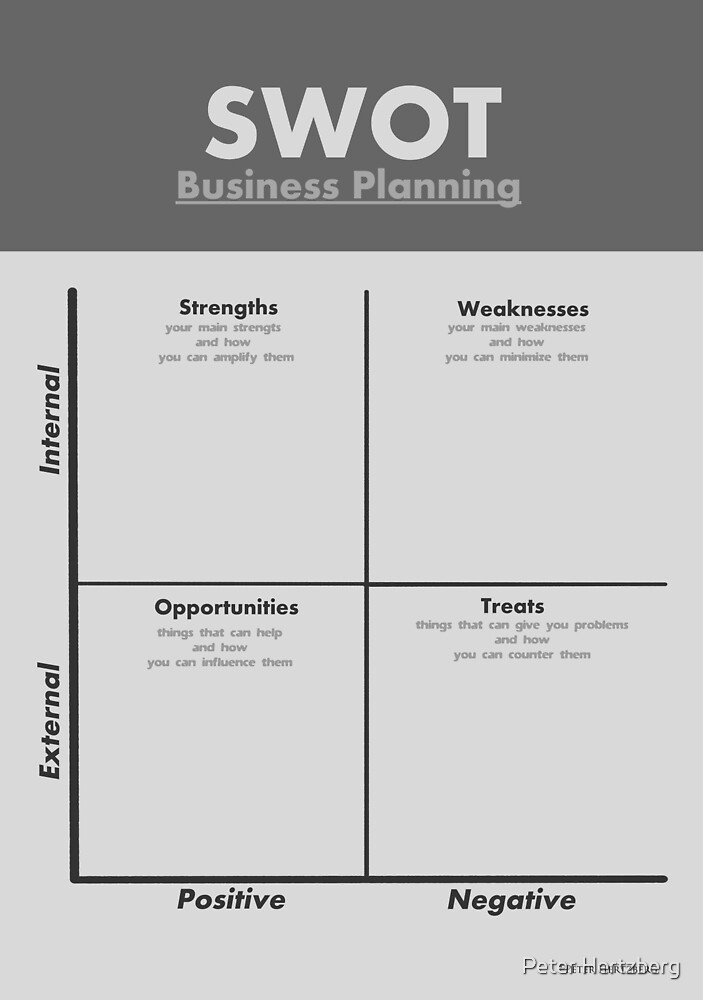 SWOT Analysis - in Silver by Peter Hertzberg