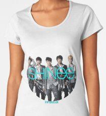SHINee photo circle  Women's Premium T-Shirt
