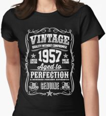 Vintage 1957 Aged to perfection Women's Fitted T-Shirt