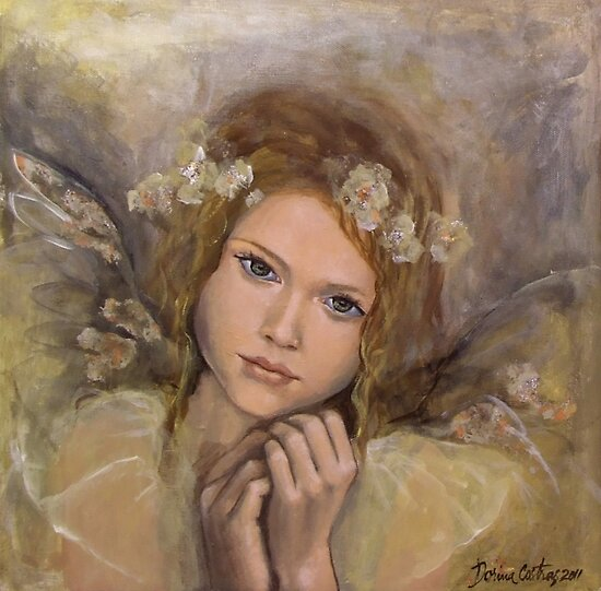"""The touch of an angel (""""Angels"""" series) by dorina costras"""