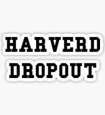Harverd Dropout Sticker