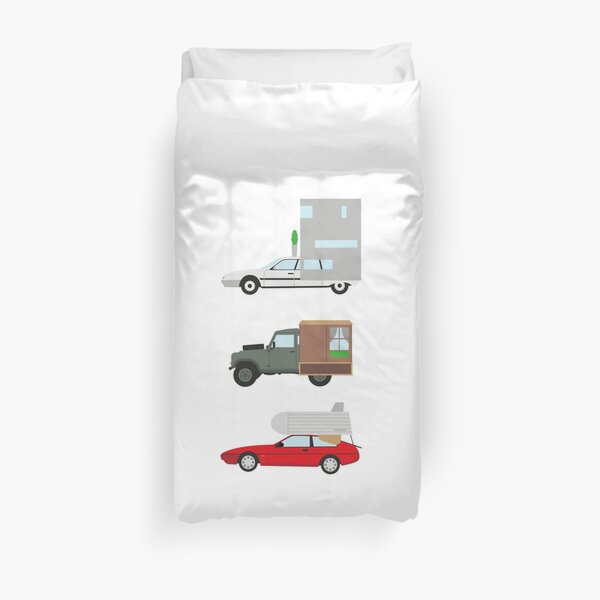 The Caravan Challenge Duvet Cover
