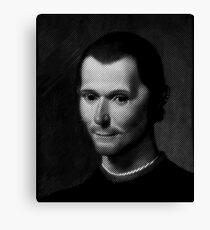Niccolo  Machiavelli Canvas Print