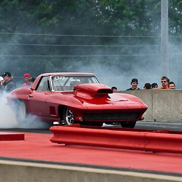 Corvette Burnout by thatstickerguy