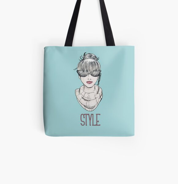 Style All Over Print Tote Bag