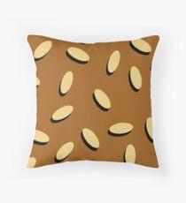BURGER BUN (Pillow) Throw Pillow