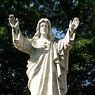 Jesus In The Garden by WildestArt