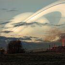 Dusk Saturn by Daniel Owens