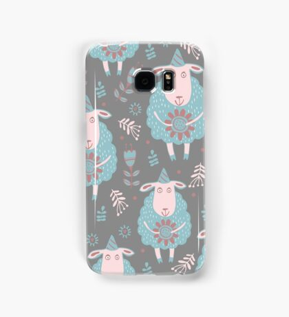Cute moutons Samsung Galaxy Case/Skin