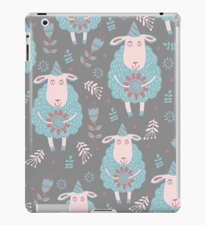 Cute moutons iPad Case/Skin