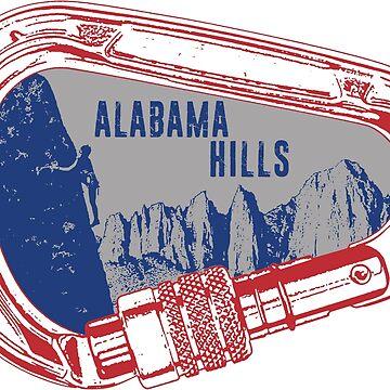 Alabama Hills Climbing Carabiner by esskay