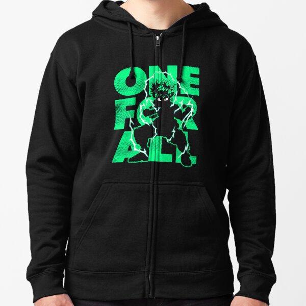Uno para todos - Héroe Sudadera con capucha y cremallera