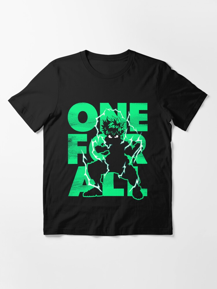 Alternate view of One For All - Hero Essential T-Shirt