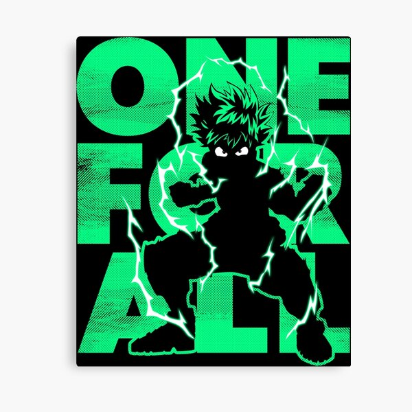 One For All - Hero Canvas Print