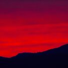 Red Sunset Sky by csegalas