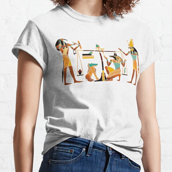 WEIGHING THE SOUL. Egyptians. Egyptian. Classic T-Shirt