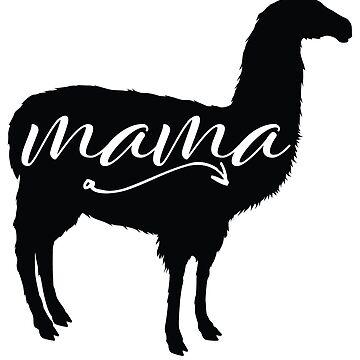 Llama Mom by kamrankhan
