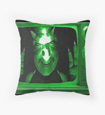 Demon Channel Throw Pillow