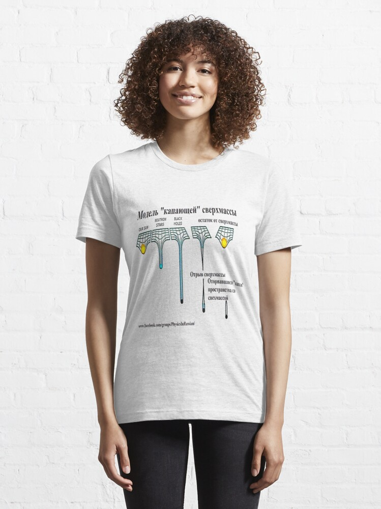 Alternate view of cloud, word, concept, illustration, tag, text, abstract, web, success, words, Physics, Astrophysics, Cosmology, hipotesis, theory, black hole, Sun, universe,  Essential T-Shirt