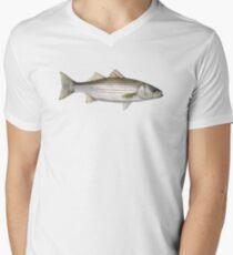 Striped Bass Men's V-Neck T-Shirt