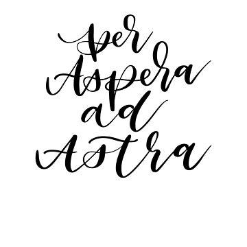 Per Asper ad Astra   by ilzesgimene