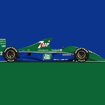 Formula 1 - Michael Schumacher - Jordan 191 by JageOwen