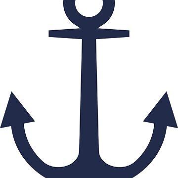 Anchor   Woman Sea T-shirt   Sargassa Sea Color by artbaggage