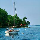 Summer Sailing by Deborah  Benoit