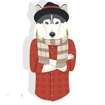Mr Husky  by AmineSecrets
