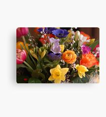 A Bouquet full of Spring Canvas Print