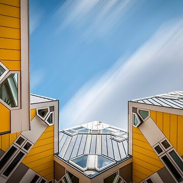 Cube houses in Rotterdam by JJFarquitectos