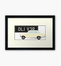 Richard Hammond Oliver Opel Kadett Framed Print