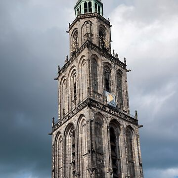 Groningen The Netherlands Martinikerk Martini Church Martinitoren. by stuwdamdorp