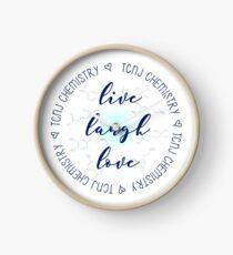 Live Laugh Love TCNJ CHem Clock