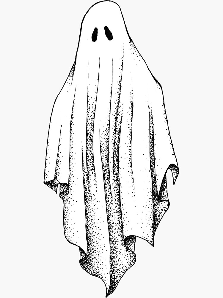Sheet Ghost by wordlesspaintng